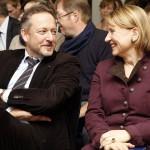 Peter Kraus vom Cleff und Barbara Lison
